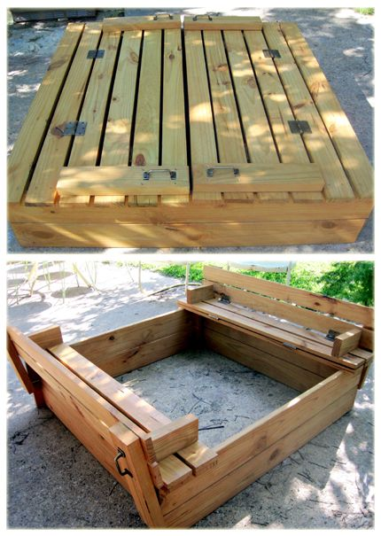 Fold Out Sand Box I Like The Handles Crafts Pinterest