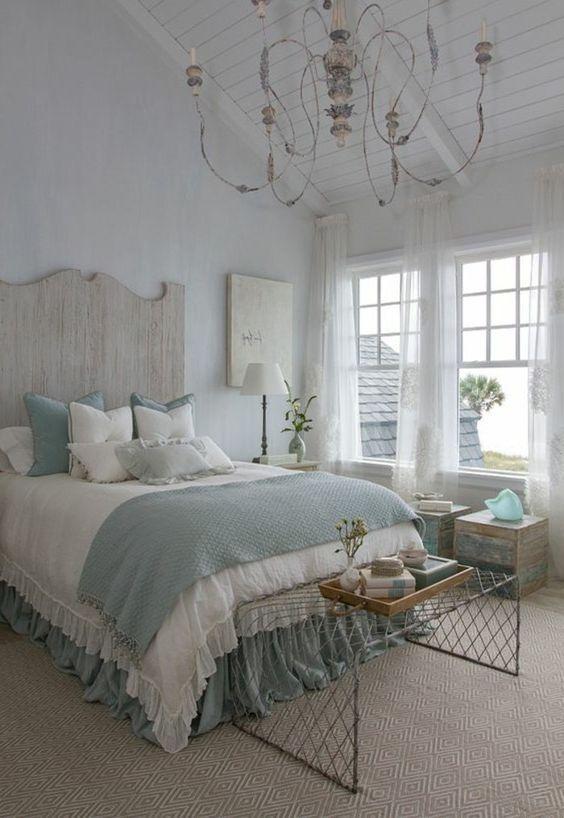 25 Most Admirable Farmstyle Bedroom Ideas For Unique Decor Coastal Bedroom Decorating Coastal Master Bedroom Bedroom Vintage