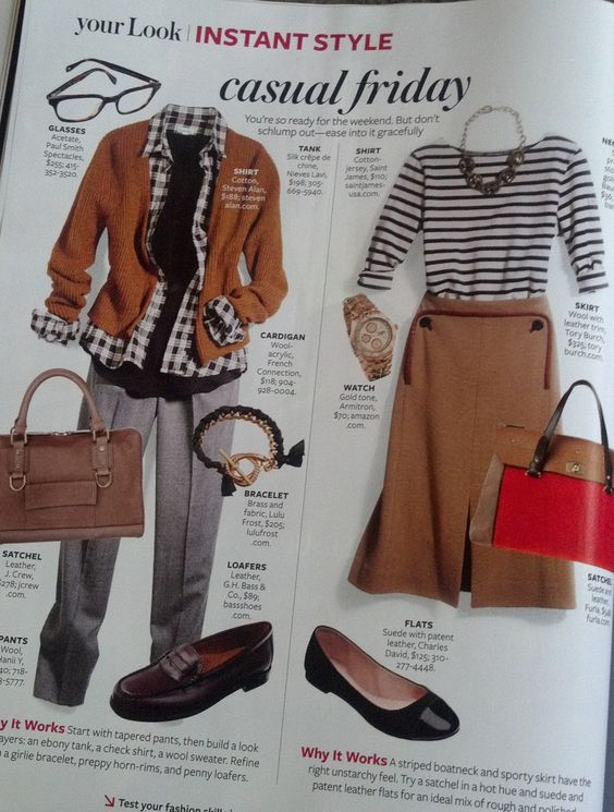 "InStyle Magazine - ""Casual Friday"""