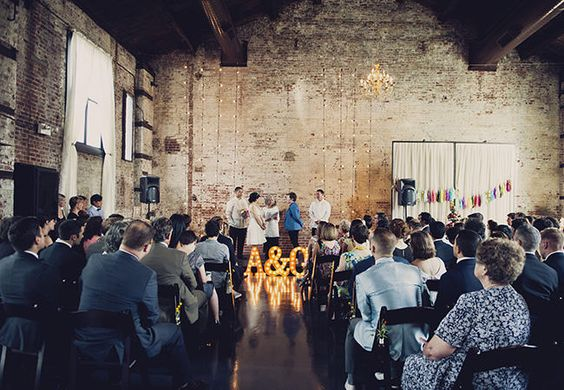 Move Over Rustic Chic, Industrial Is In   TheKnot.com