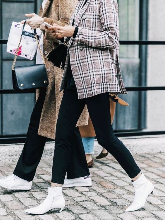 The key ankle boot trends for 2017, including red boots, silver boots, kitten heel boots and more.