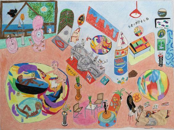 """Alexandra Schmidt, """"My Dream Studio"""", 2015"""