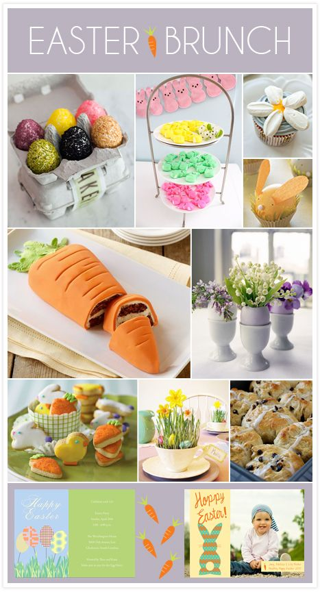 A happy easter brunch Fun easter brunch ideas