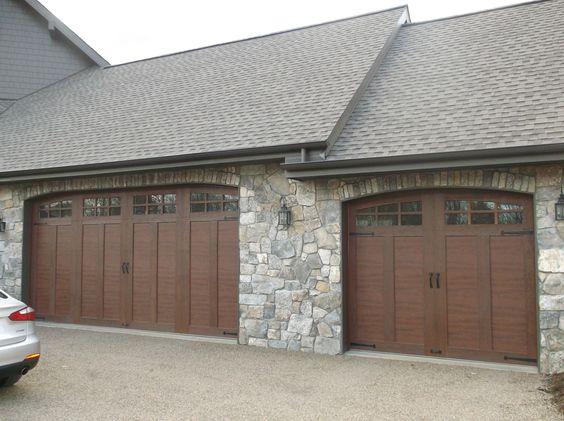 Clopay canyon ridge garage doors clopay garage doors for Clopay wood garage doors