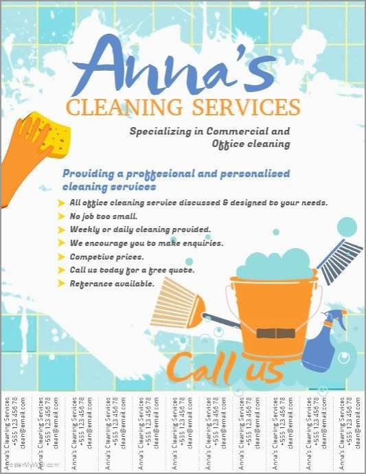 Housekeeping Flyer Templates Cleaning Service Flyer Cleaning Flyers Flyer Template