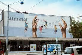 Lithuania, Vilnius 2013 Arte Urbano de  Ernest Zacharevic