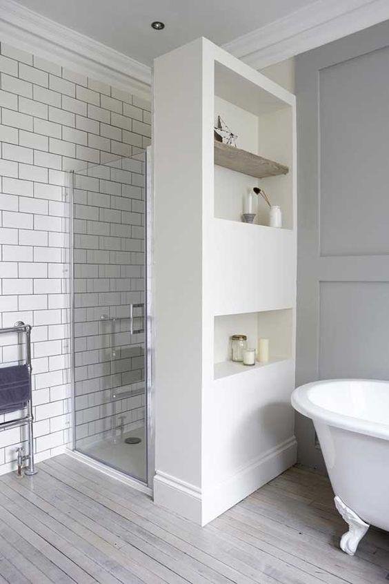 ontspannen wonen met neutrale kleuren | badkamer/bathroom, Badkamer