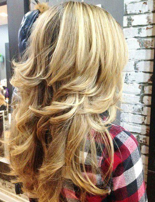 50 Gorgeous Long Layered Hairstyles Haircuts For Long Hair With Layers Haircut For Thick Hair Long Shag Haircut