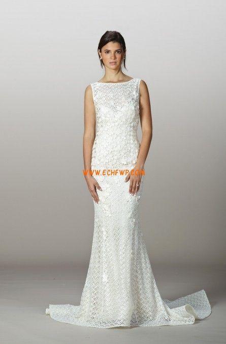 Fourreau Zip Naturel Robes de mariée 2014