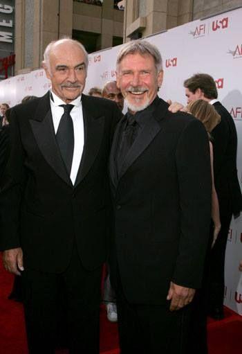Sean Connery Harrison Ford Com Imagens Atrizes Homens
