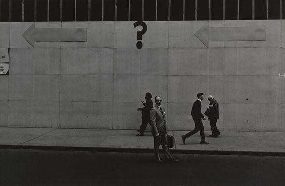 Lee Friedlander. New York City. 1962