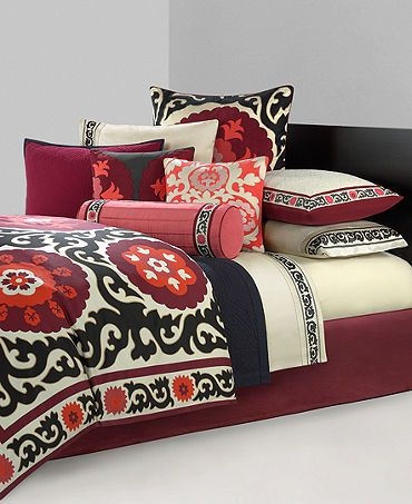 Bedding at Macys and Bed Bath and Beyond