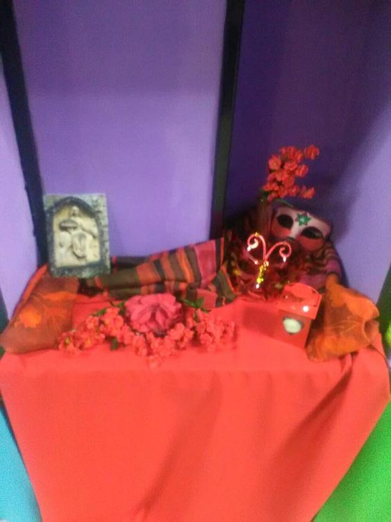Mini-altar de Beltane Septiembre 2016