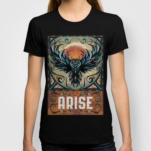 Arise T-shirt by Andreas Preis