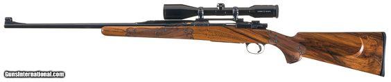 Custom Angelo Bee-Engraved FN Mauser 270 Win