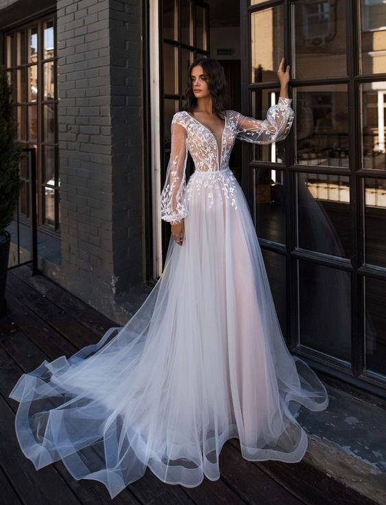 100+ Wedding Dress Trends to Inspire Your 2019, #WeddingDress