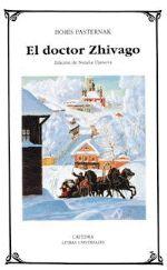 """PASTERNAK, BORIS LEONIDOVICH. El doctor Zhivago (N PAS doc) El doctor Zhivago no es una novela contrarrevolucionaria ni tergiversa las ideas de la revolución. Describe en ella Pasternak, sin abiertas intenciones polémicas, la vida de un """"testigo"""" de una de las épocas más trágicas de la historia rusa. Sólo a comienzos de 1988 esta novela fue publicada en Rusia."""