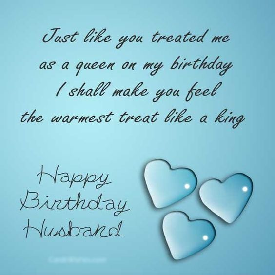 Marvelous Happy Birthday To Dear Husband Just Like You Treated Me As A Personalised Birthday Cards Paralily Jamesorg
