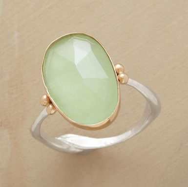 Sundance Catalog - Rebirth Ring - Aquamarine stone