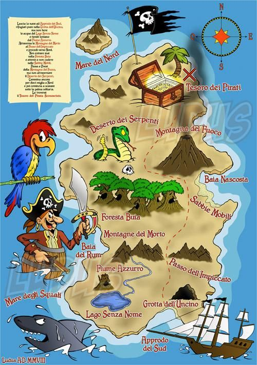 пиратскую карту бесплатно в играть
