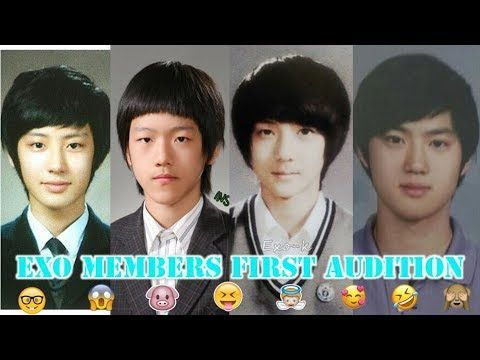 Exo Members First Audition Pre Debut Youtube Exo Members Audition Exo