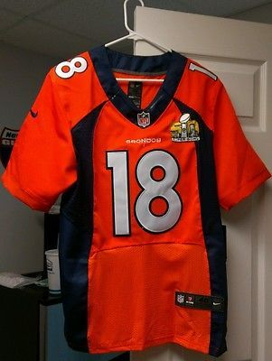26a4909c NFL Jersey's Women's Denver Broncos Peyton Manning Nike Navy Super ...