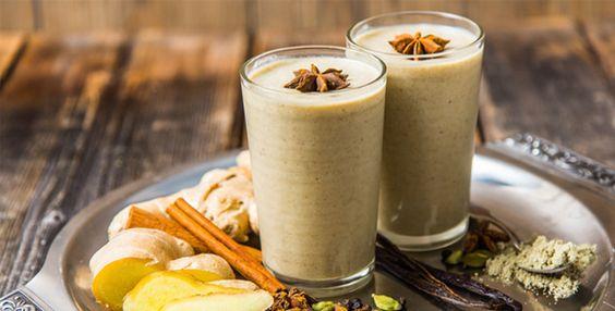 Monday Meal Idea: Chai Tea Smoothie #chai #smoothie #recipe: