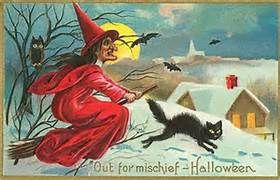 Antique Halloween Cards - Bing Images