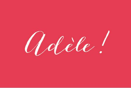 faire part naissance Son prénom (photo) by Tomoë pour www.fairepartnaissance.fr #birth #announcement #red #rosemood