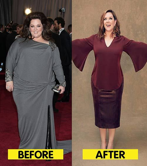 melissa mccarthy weight loss diet plan