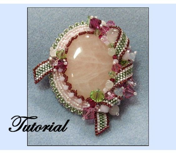 Ribbon Melody Beaded Brooch | Bead-Patterns