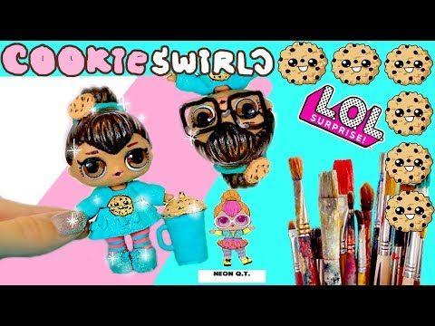 Cookieswirlc Custom Lol Surprise Doll Easy Diy Cookie Fan Video