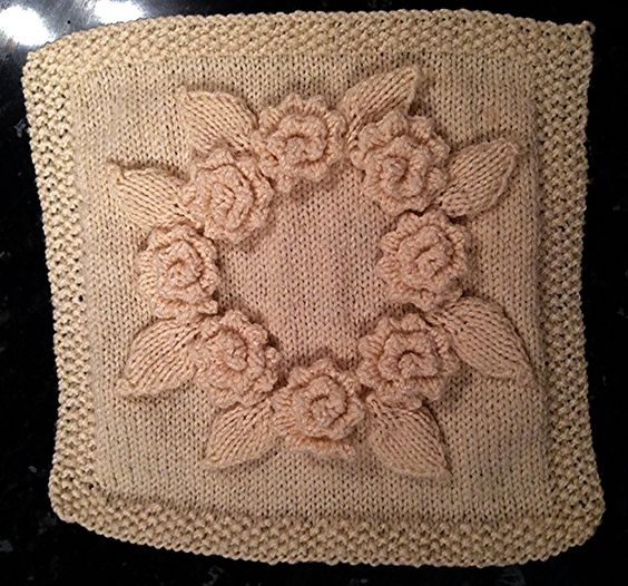 Knitting Rose Stitch : Ring a roses by jody long free points tricot