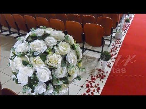 Como Fazer Arranjo De Flores Para Casamento Decoracao Com