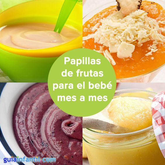 Mmm a tu beb le encantar n estas recetas de papillas for Comedor de frutas para bebe