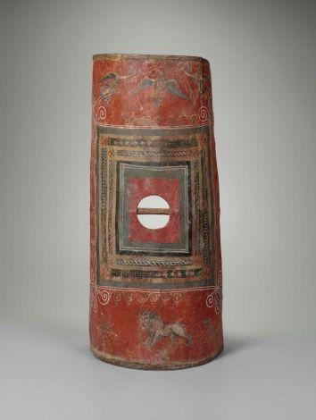 Ancient Roman Scutum, mid-3rd century CE