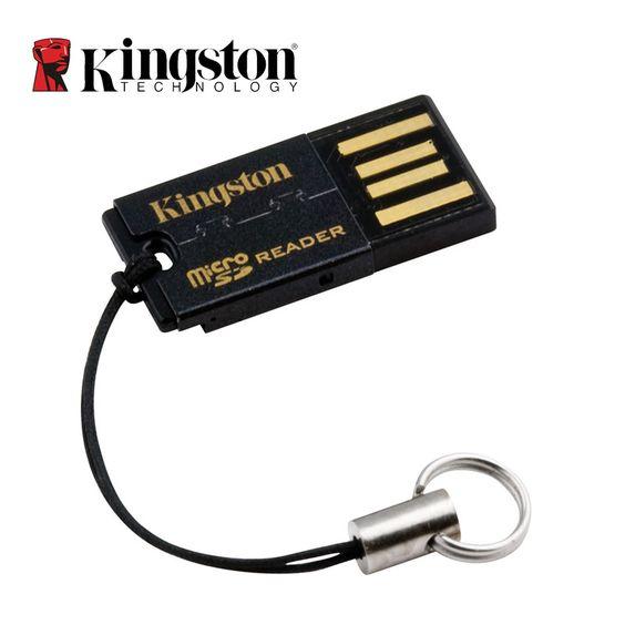 Kingston Micro SD Card Reader microSD/ microSDHC/microSDXC Card USB 2.0 Adapter FCR-MRG2