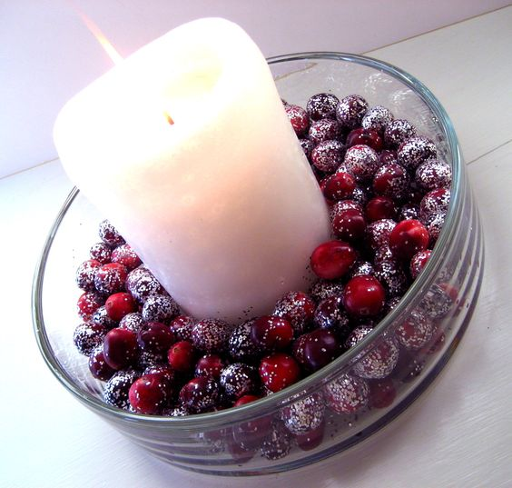Cranberries | Christmas | Pinterest | Cranberries, Easy Crafts