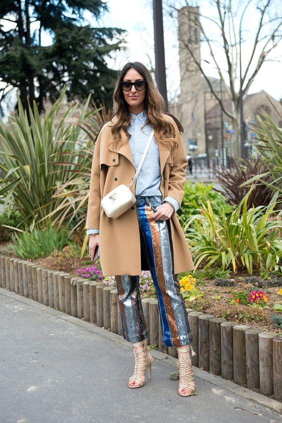Jeans que serán tendencia en 2017 (y 2018) - JEANS CON LENTEJUELAS | Galería de fotos 6 de 13 | Glamour