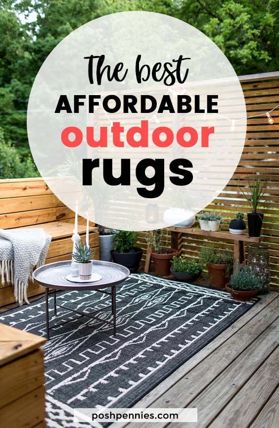 The Most Affordable Outdoor Patio Rugs