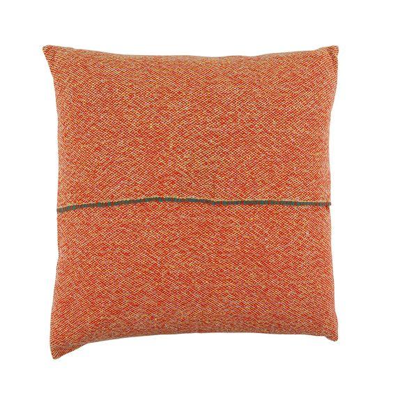 Buy Zuzunaga Handwoven Cushion - 50x50cm - Orange | Amara