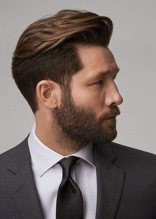 Medium Length Mens Haircuts Long On Top 94