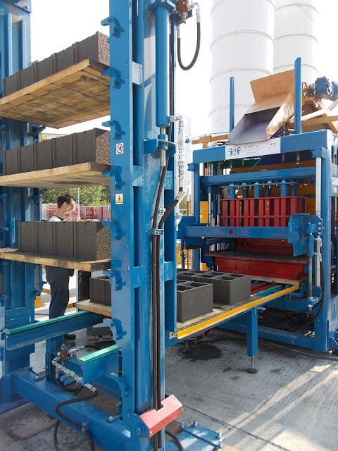 Italy Made Concrete Block Making Machine For India Bangladesh Concrete Blocks Making Machine Concrete