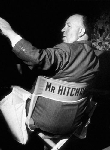Alfred Hitchcock, 1954