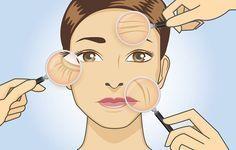 Recetas caseras para quitar las arrugas de la frente