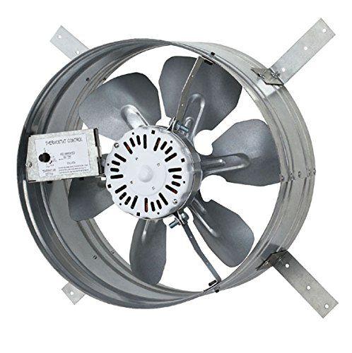 Iliving Ilg8g14 12t Newest Automatic Gable Mount Attic Ventilator