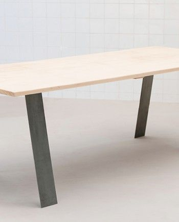 Table basse ou haute design en metal style industriel