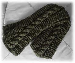 bufandas a dos agujas para hombres , Buscar con Google