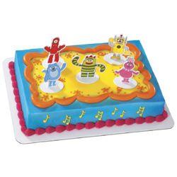 Yo Gabba Gabba Birthday Cake Publix
