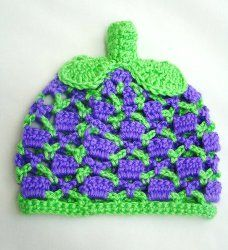 Baby Berry Hat ~ free pattern